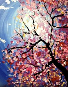 PaintNite - Spring Blossoms @ Desert Wind Winery
